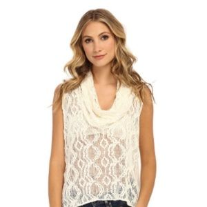 """NWOT - FP """"Just like that"""" Knit, Crochet Top"""
